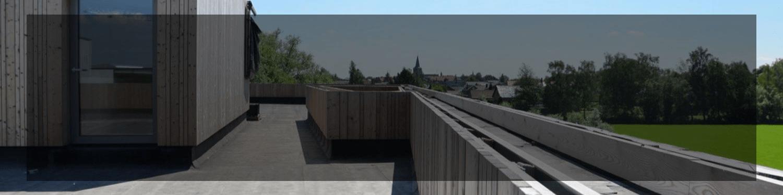 Klasyczne dachy płaskie